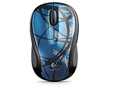 Logitech Wireless Mouse<br /> M305 - Blue